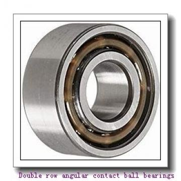 305262D Double row angular contact ball bearings
