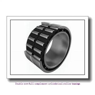 NNCF5038V Double row full complement cylindrical roller bearings