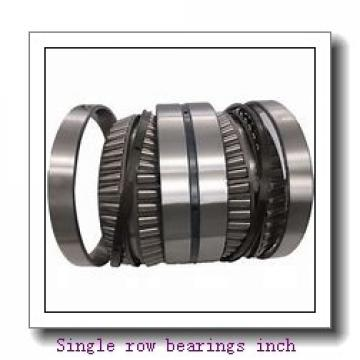 783/772A Single row bearings inch