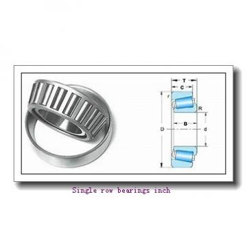 36990/36920 Single row bearings inch