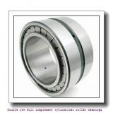 NNCL4934V Double row full complement cylindrical roller bearings